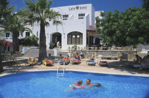 The swimming pool at or near Lato hotel