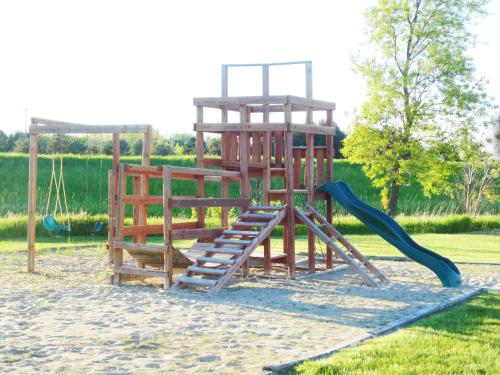 Children's play area at American Inn and Suites Houghton Lake