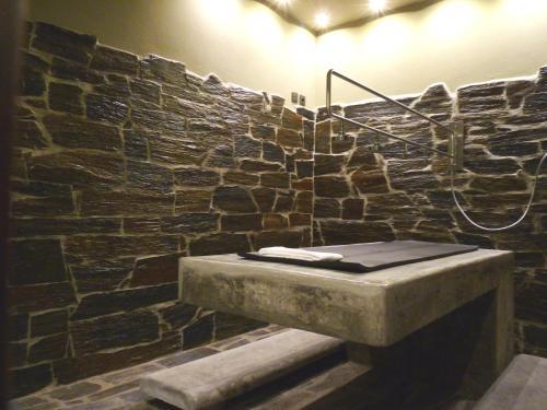 A bathroom at Vila Gale Collection Douro