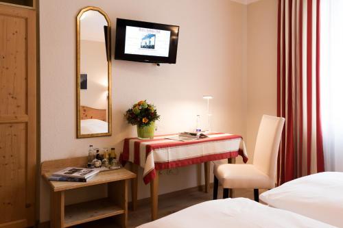 TV/Unterhaltungsangebot in der Unterkunft Hotel Sollner Hof
