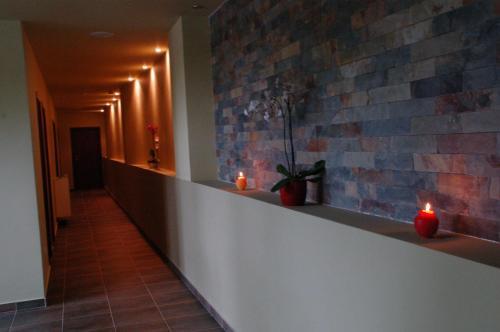 Küche/Küchenzeile in der Unterkunft Hotel 2D Resort and Spa