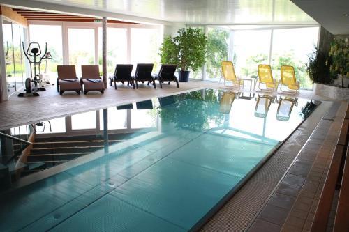Der Swimmingpool an oder in der Nähe von Aldranser Hof