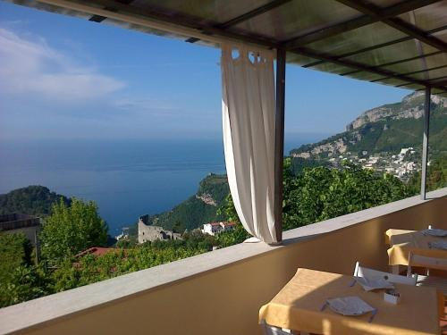 A balcony or terrace at Casa Falcone B&B