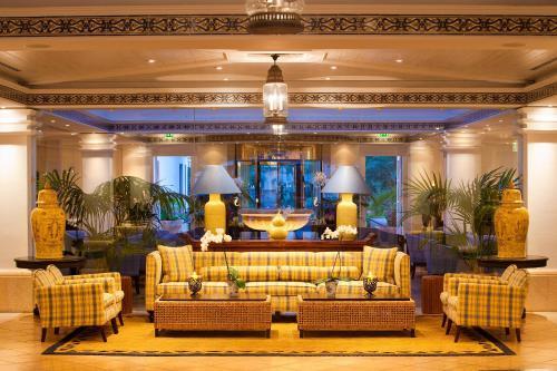 Hall ou réception de l'établissement Seaside Grand Hotel Residencia - Gran Lujo