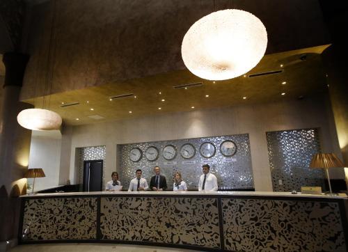 Лобби или стойка регистрации в Garabag Resort&Spa