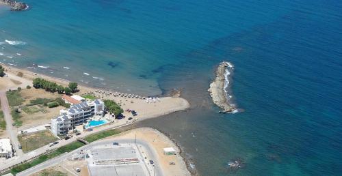 A bird's-eye view of Nautilus Bay Hotel