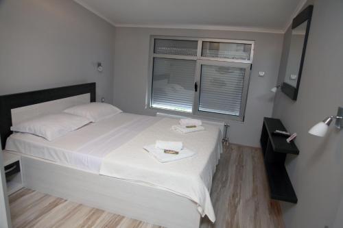 Krevet ili kreveti u jedinici u okviru objekta Silver House Hostel