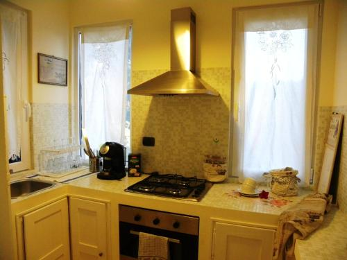 Cucina o angolo cottura di Rivaro Palace