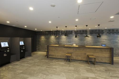 The lobby or reception area at Tokyu Stay Shinjuku