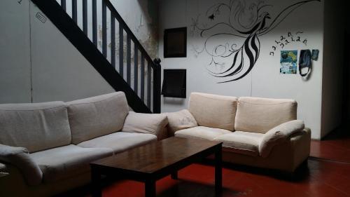 Zona de estar de Jalan Jalan Guest House