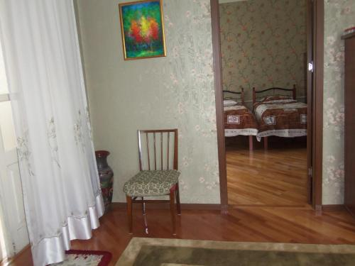 Гостиная зона в Nino Shavhaleti Guest House