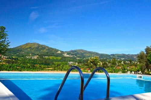 The swimming pool at or near Casa De Santa Comba