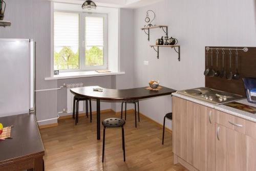 A kitchen or kitchenette at Voskhod