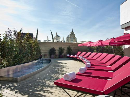 The swimming pool at or near The Principal Madrid, Small Luxury Hotels