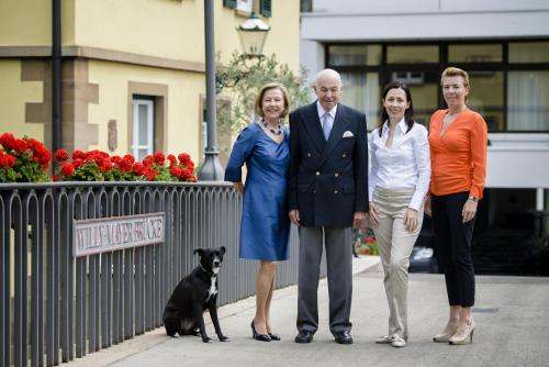 Pet or pets staying with guests at Insel-Hotel Heilbronn