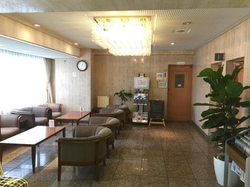 Sky Heart Hotel Kawasaki大廳或接待區
