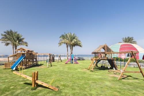 Children's play area at Barceló Tiran Sharm Resort