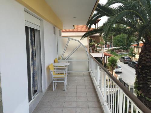 Μπαλκόνι ή βεράντα στο Iris Hotel