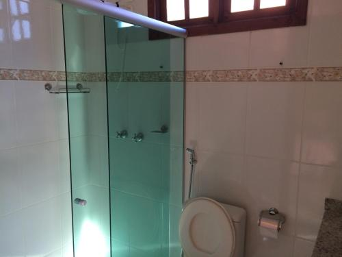 Um banheiro em Pousada Serra D'água