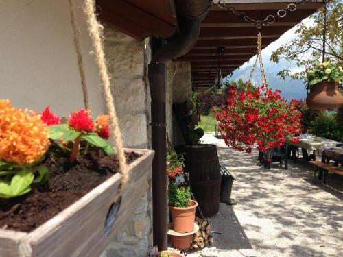 A balcony or terrace at Agriturismo Dagai