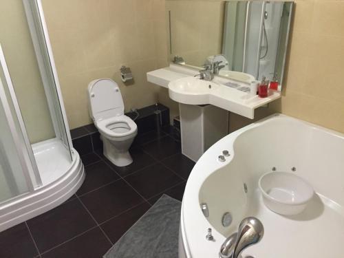 Ванная комната в Макс Отель