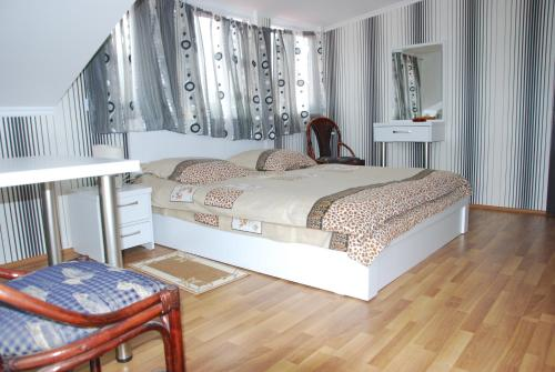 Кровать или кровати в номере Old Capital