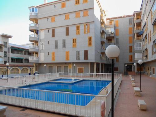 Der Swimmingpool an oder in der Nähe von Apartment Asequin Beach