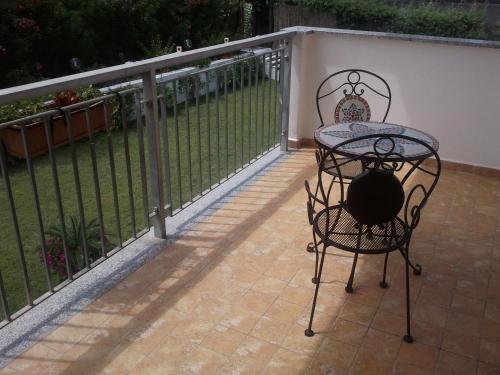 A balcony or terrace at Telma Hotel