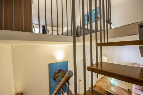 A bunk bed or bunk beds in a room at GH Paradiso - Apartments