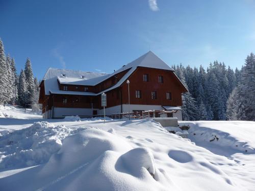 Hotel Madr v zimě