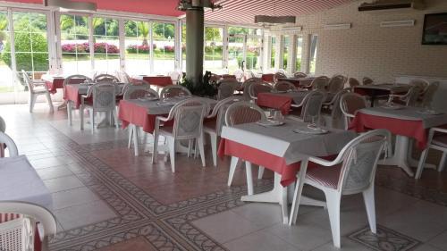 Un restaurante o sitio para comer en Hotel Casa Fernando II