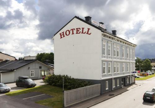 Byggnaden som hotellet ligger i