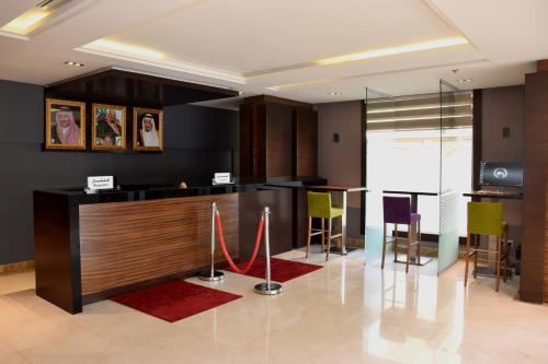 O saguão ou recepção de Hayat Heraa Hotel