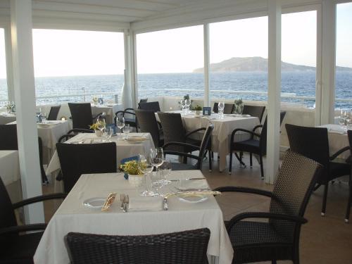 Un restaurante o sitio para comer en Tempo Di Mare