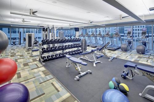 The fitness center and/or fitness facilities at Fairmont Pittsburgh