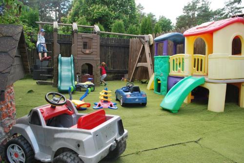 Children's play area at Villa Anna