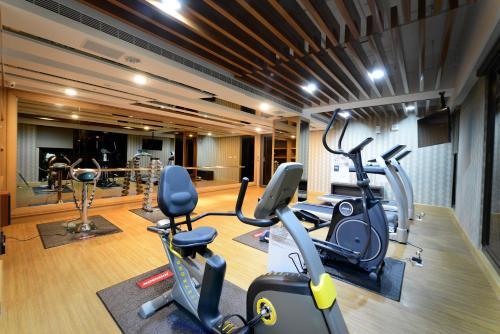 豐原五都大飯店健身房和/或健身器材