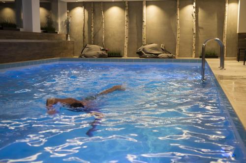 The swimming pool at or near Hotel Garni Entstrasser