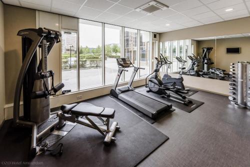 Het fitnesscentrum en/of fitnessfaciliteiten van Ozo Hotel