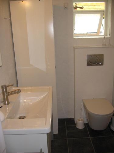 Et badeværelse på B&B Korsørvej