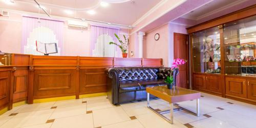 The lobby or reception area at Hotel Menshikov