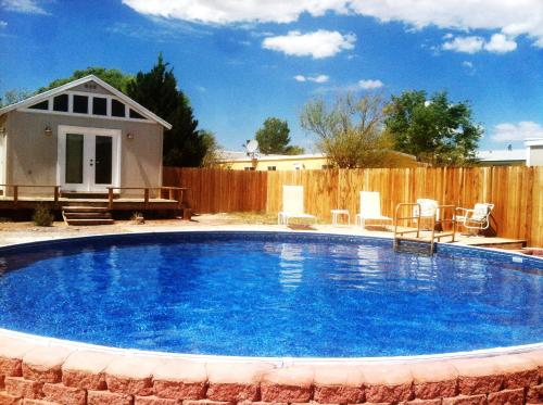The swimming pool at or near Shady Lady Bed and Breakfast