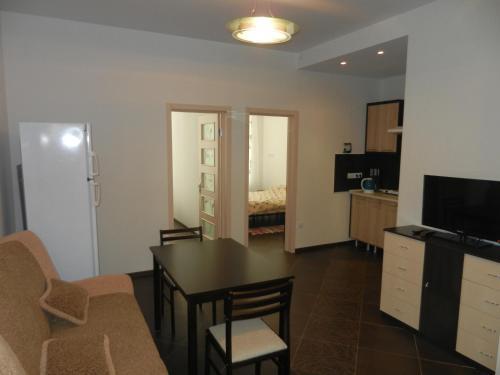 Гостиная зона в Apartments Elling by the Sea