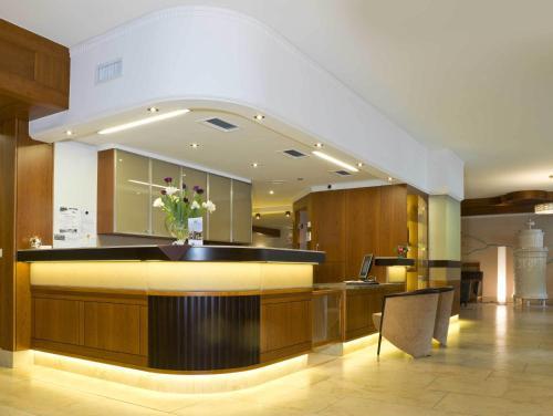 Lobby/Rezeption in der Unterkunft Hotel König