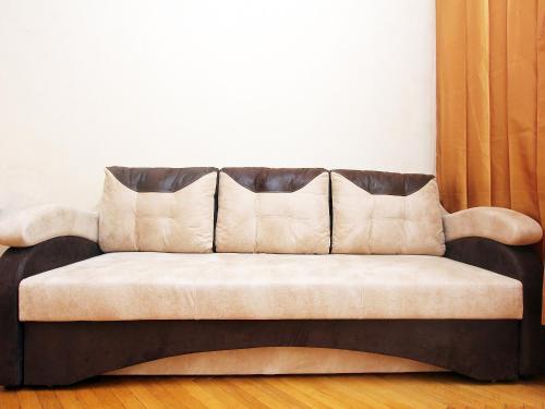 A seating area at ApartLux na Ploshadi Pobedy
