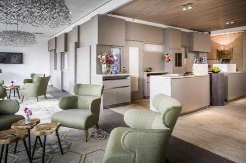 Hall ou réception de l'établissement Babylon Hotel Den Haag