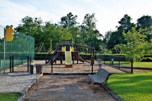 Children's play area at Hotel Dos Templarios