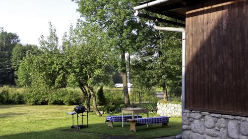 Ogród w obiekcie Chata Apart