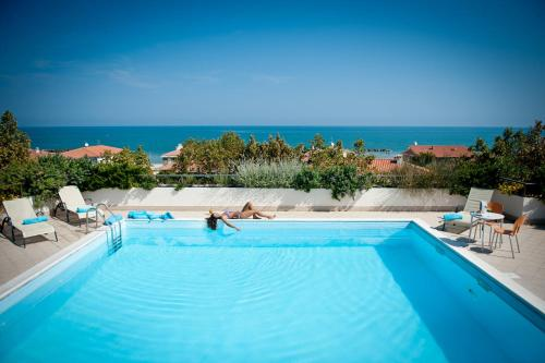 The swimming pool at or near Phi Hotel Alcione