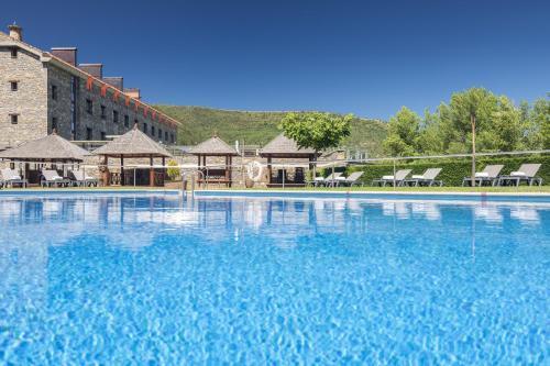 The swimming pool at or near Barceló Monasterio de Boltaña Spa